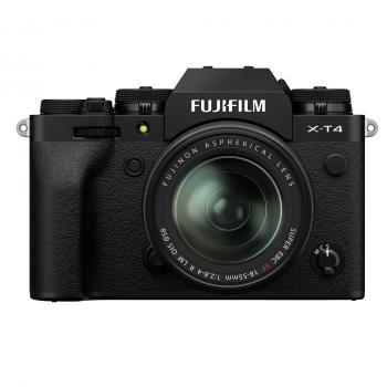 FUJIFILM X-T4 schwarz + XF18-55mm Kit