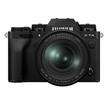 FUJIFILM X-T4 schwarz + XF16-80mm Kit