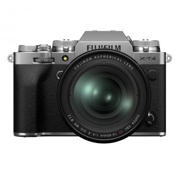 FUJIFILM X-T4 silber + XF16-80mm Kit