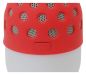 Preview: Conceptronic Wireless waterproof Bluetooth LED Speaker red