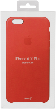 Apple iPhone 6s Plus Leather Cas Red