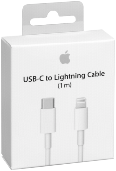 Apple Lightning auf USB-C Kabel 1m           MK0X2ZM/A