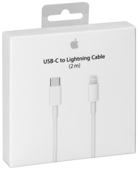 Apple Lightning auf USB-C Kabel 2m           MKQ42ZM/A