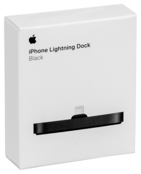 Apple iPhone Lightning Dock Black