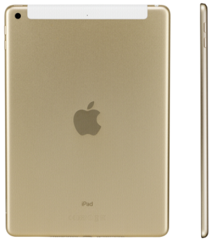 Apple iPad Wi-Fi + Cellular 128GB Gold (Apple Sim)