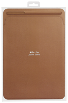 Apple iPad Pro 10.5 Leather Sleeve Saddle Brown