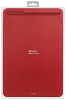 Apple iPad Pro 10.5 Leather Sleeve (PRODUCT) RED