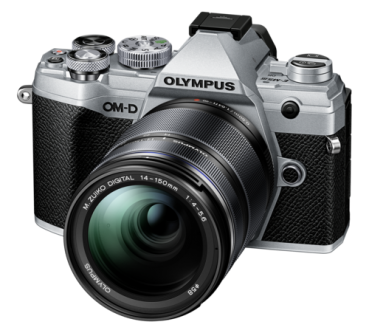 Olympus OM-D E-M10 Mark III Kit silber + 14-150 mm