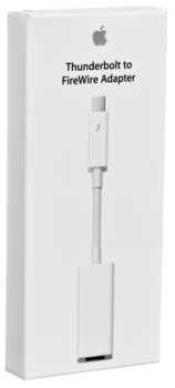 Apple Thunderbolt auf FireWire Adapter                MD464ZM/A