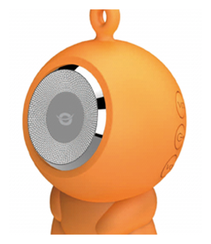 Conceptronic Wireless waterproof Bluetooth Speaker orange