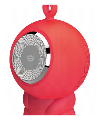 Conceptronic Wireless waterproof Bluetooth Speaker red