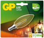 GP Lighting LED Kerze Gold E14 1,2W (11W)